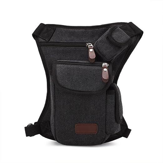 57599de486fe Pocciol Pocciol Useful Multifunction Outdoor Sport Leg Bag Canvas Waist Bag  Money Belt Fanny Pack