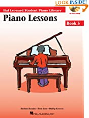 Piano Lessons Book 5 - Book/Enhanced CD Pack: Hal Leonard Student Piano Library (Hal Leonard Student Piano Library (Songbooks)) (Paperback)