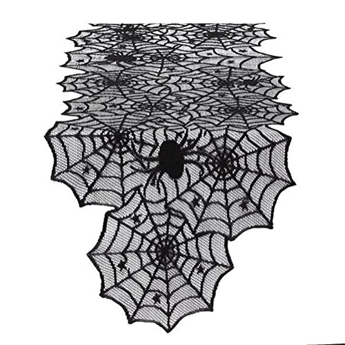 Spider Web Lace 72 Inch Halloween Table (Table Halloween Ideas)