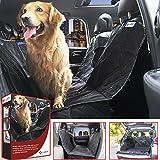 E-JOY Universal Waterproof Non Slip Dog Car Seat Cover, Large(58 X 55-Inch), Black