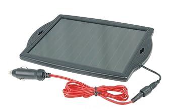 Visua SP18W – Cargador de baterías solar de 12V 1.8W – Coches, caravana, moto, bote