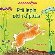 P'tit Lapin plein d'poils par Martine Bourre