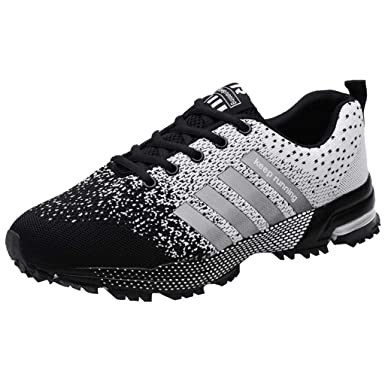 Sneakers Homme, Chaussures de Running Compétition Homme, Chaussures de Sports, Chaussures Homme Sport Soldes, Homme Femme Basket Sneakers Outdoor