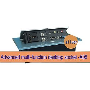 Pop Up Socket Desktop Damping Multi Outlet Conference Table - Conference table pop up outlets