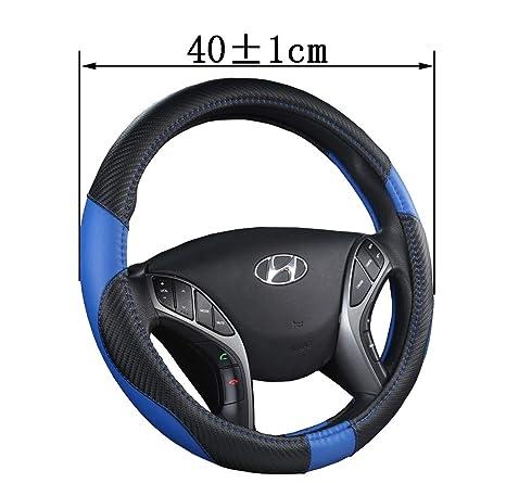 Amazon.com: ZJWZ - Funda de volante de piel para camión ...