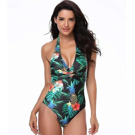 LABAICAI 2019 Bikini Push Up Bañador para Mujer, Sexy, Estampado ...