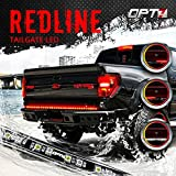 "60"" Redline LED Tailgate Light Bar - Triple-Core LED - Weatherproof - Full Function - 2yr Warranty - Easy Screw-Less Install - Durable Rigid Aluminum - Reverse Signal Running Brake - Rain or Snow"