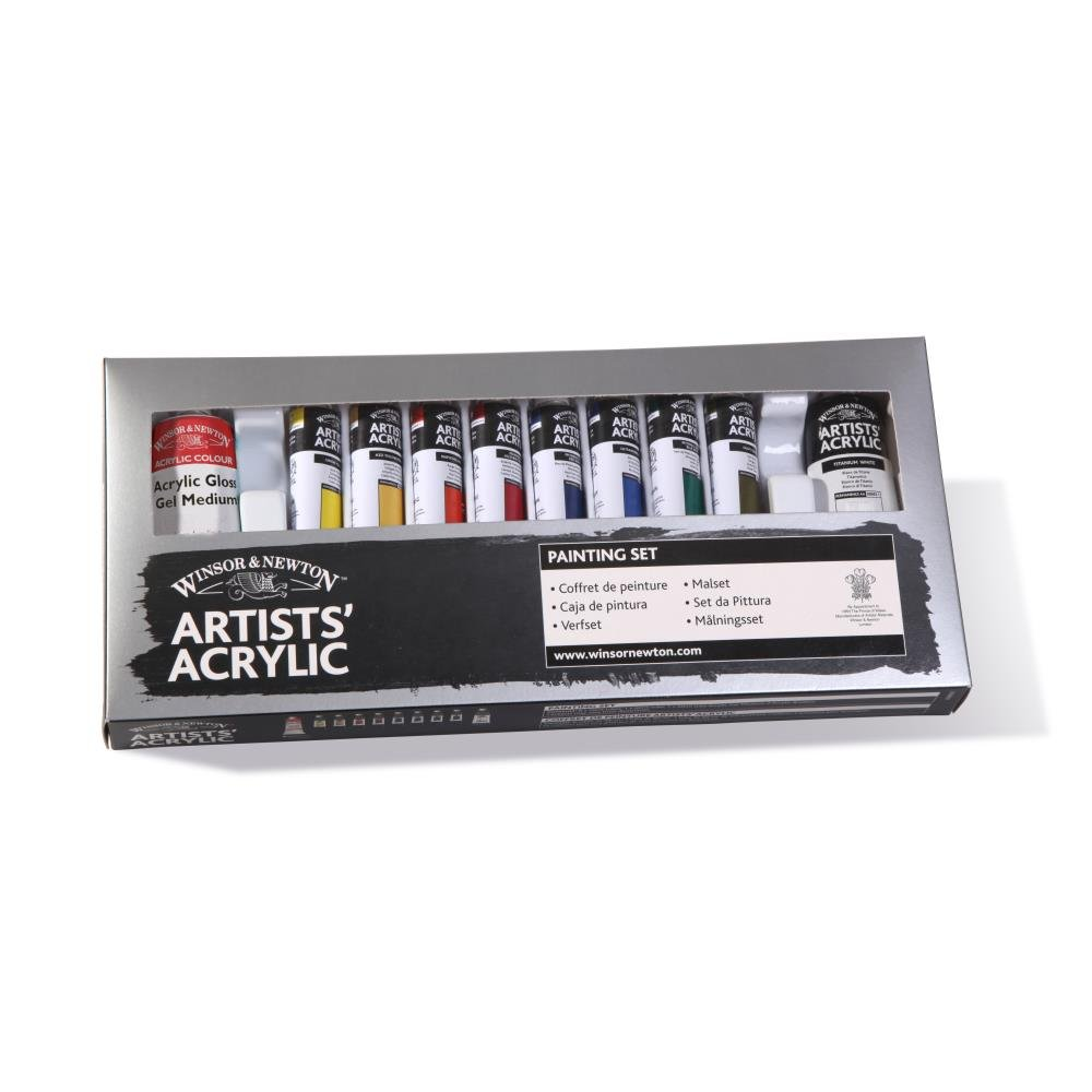 Winsor & Newton Artists' Acrylic Color Painting Set