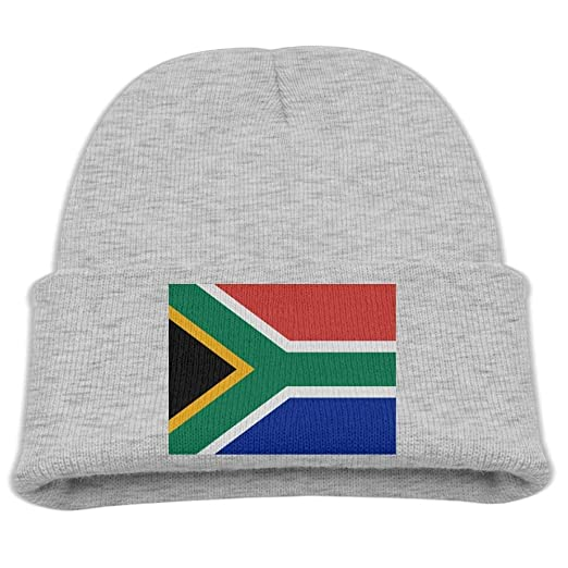 c81bd428632 Amazon.com  DeReneletrc Kid s Flag of South Africa Hats Winter Funny ...
