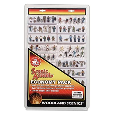 Woodland Scenics HO Economy Figure Assortment, WOOA2052: Toys & Games