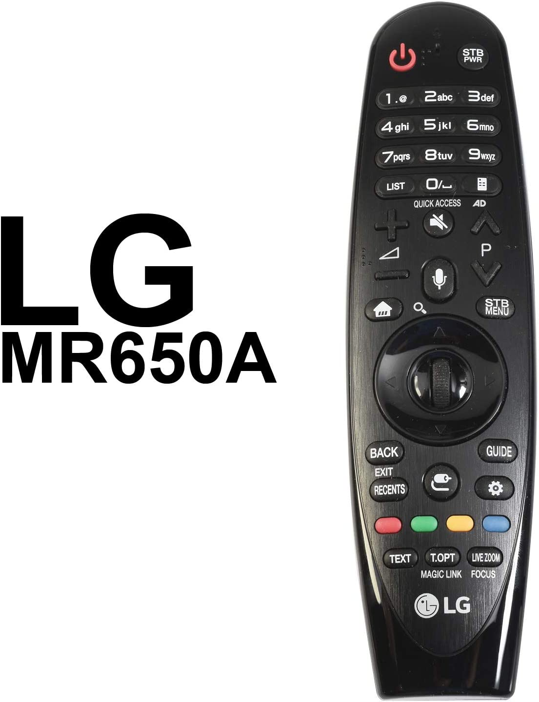 MR605A AN-MR650A Replacement Magic Remote Control for LG Smart Television 1609-REV7 MBM63935971