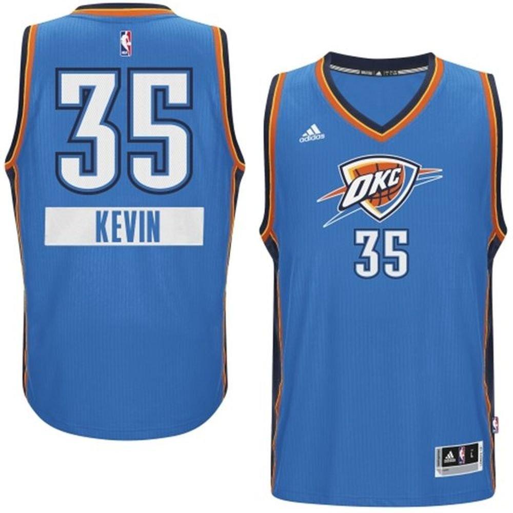 Amazon.com: Kevin Durant #35 Oklahoma City Thunder Adidas 2014 ...