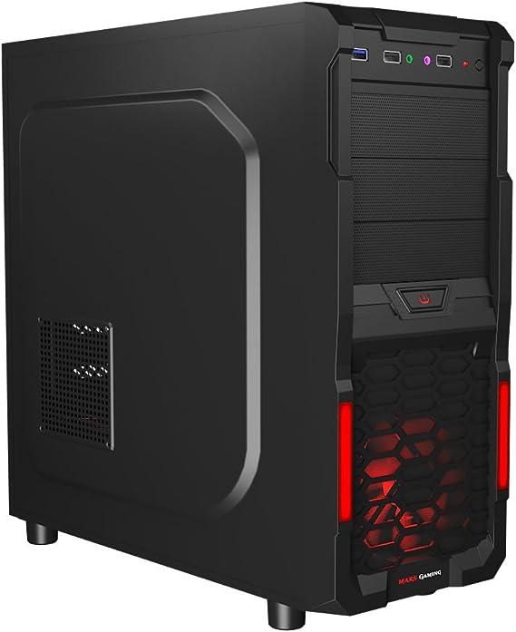 Mars Gaming MC3 - Caja de ordenador para gaming (diseñado para ...