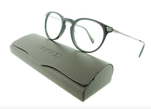 976f4009bc Oliver Peoples Eyeglasses 5326U Lummis 1005 Black Acetate   Metal Frames