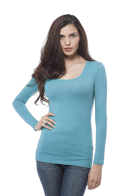 196 arfurt Women's Long Sleeve Button Down Casual Dress Shirt Business Blouse