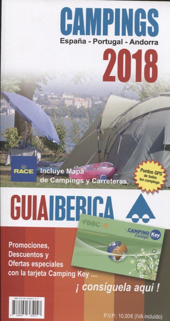 Guía Ibérica Camping 2018 España, Portugal y Andorra: Amazon.es ...