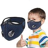 Elite Fitness Mascarilla contra Polvo Infantil niño - niña Mejor respiración, Mascara contra Polen, Ideal para Ciclismo…