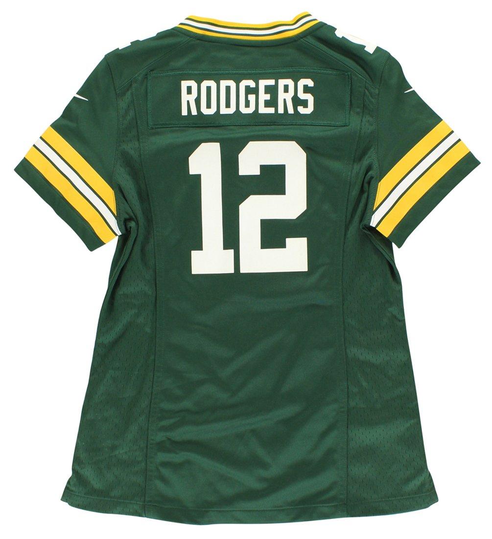 de12852e Amazon.com : Women's Large Nike Aaron Rodgers Green Bay Packers Game ...