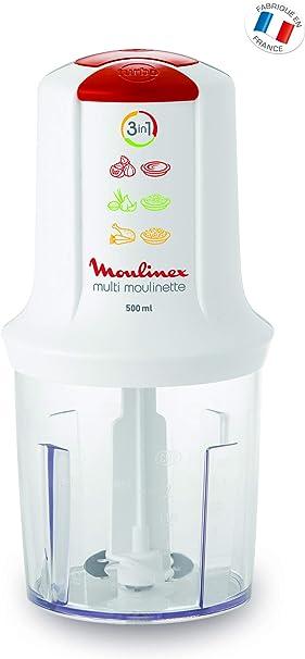 Moulinex Multi Moulinette, Licuadora, 400 W, 0.5 L, color rojo y ...