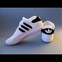 Crochet Pattern Adidas Superstar Unisex, Us sizes: 5-13 (English Edition)