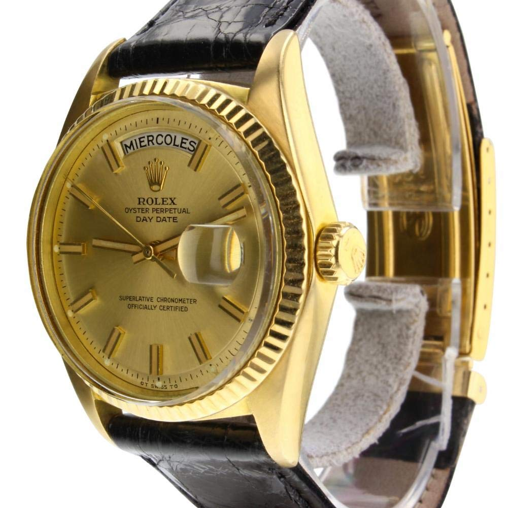 Amazon.com: Rolex Day-Date Automatic Male Watch 1803 (Certified Pre-Owned): Rolex: Watches