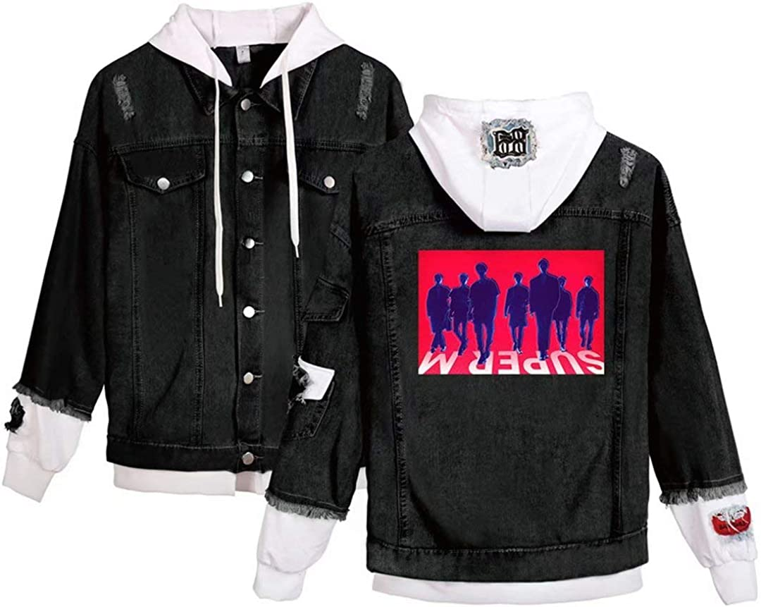 YJYP Kpop SuperM Hoodie Baekhyun Taemin Taeyong Ten Mark Ten The 1st Mini Album Sweater Sweatshirt