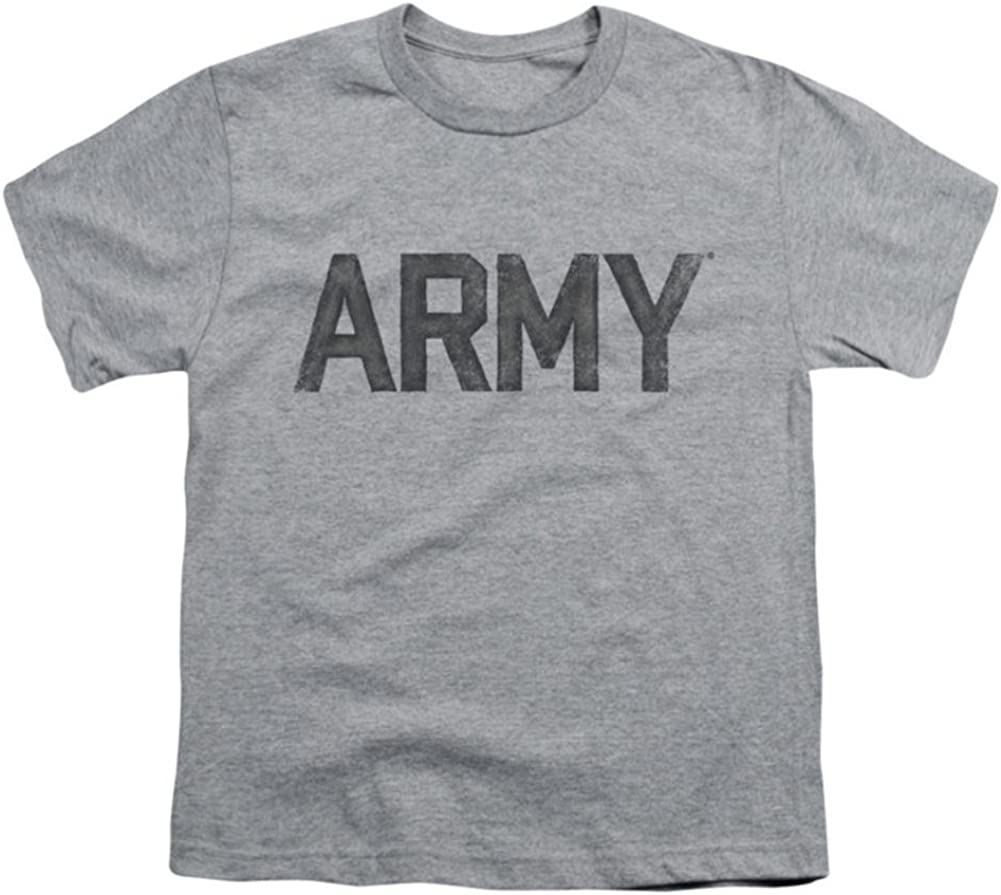 Army Star Kids T-Shirt Size YM Youth