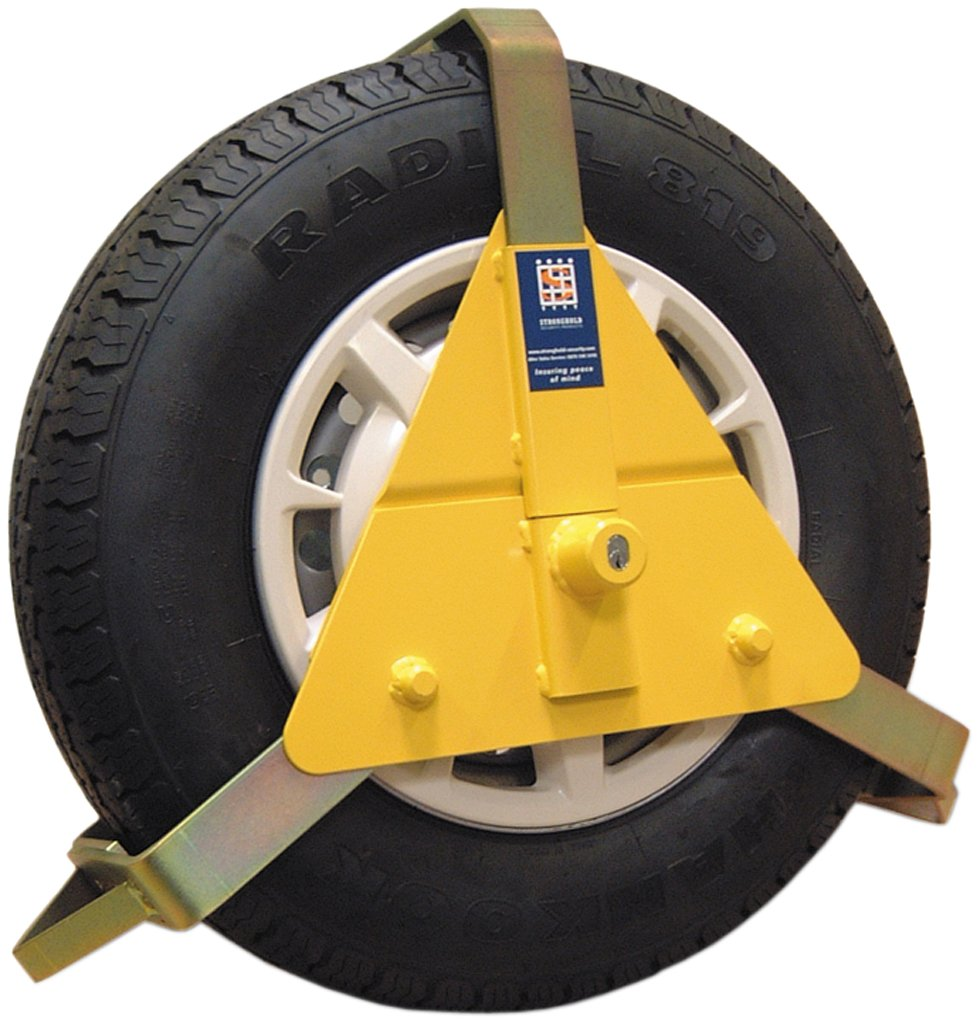 Maypole Stronghold 5435C Wheel Clamp 14 x 16 -inch