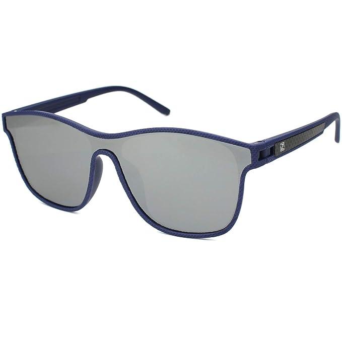 12503a22fb ZENOTTIC Guay Anteojos de Sol para Hombres Polarizadas Gafas Espejo  Revestimiento Lentes TR90 Monturas: Amazon.es: Ropa y accesorios