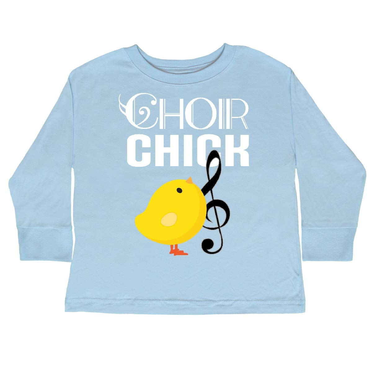inktastic Choir Chick Music Gift Toddler Long Sleeve T-Shirt