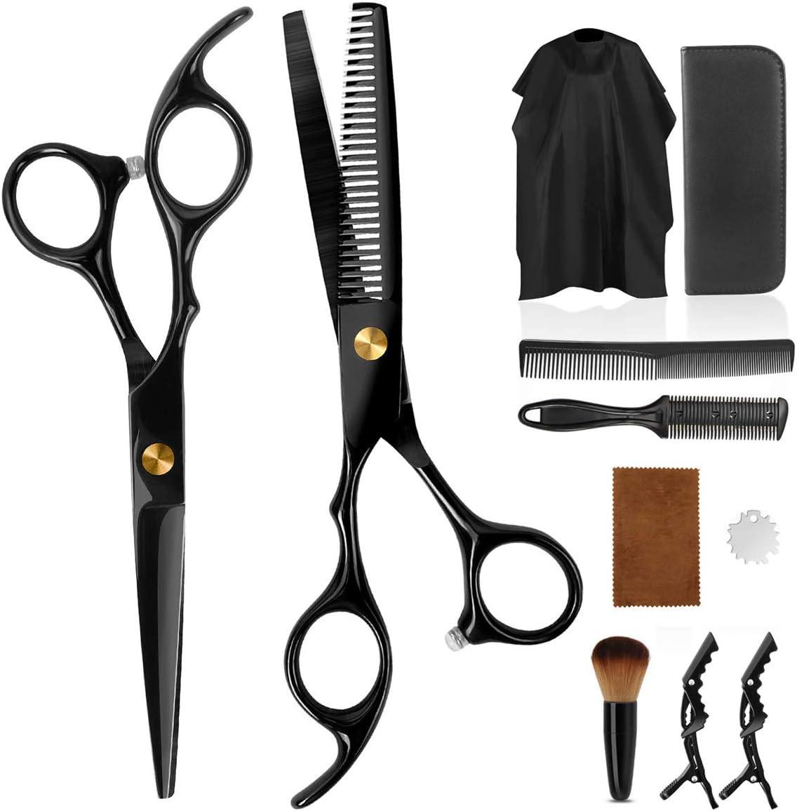 Amazon.com: AODOOR Hair Cutting Scissors Set, Haircut Scissors Kit