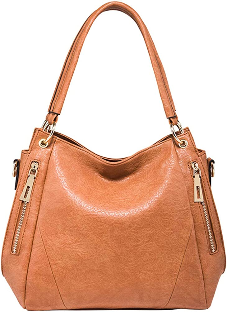 Hobo Handbag Soft PU...