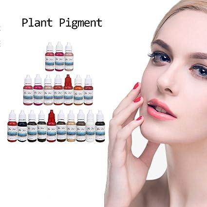 22 colores Permanent Pintalabios Cejas microblading pigments ...