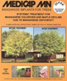 Medicap 25-Pack MN Systemic Manganese Tree Implants for Control of Manganese Chlorosis, 3/8-Inch