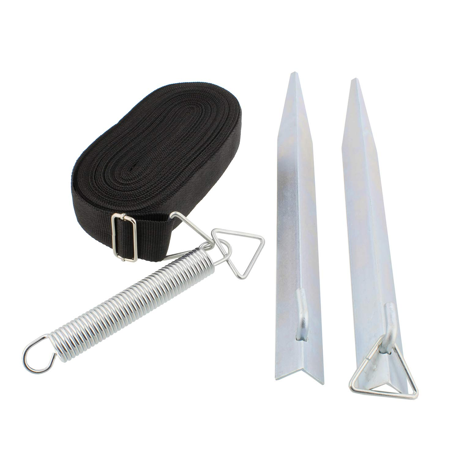 Dumble RV Awning Tie Down Kit Single Strap Tie Down Anchor Awning Tie Downs for RV and Camper Awning Accessories