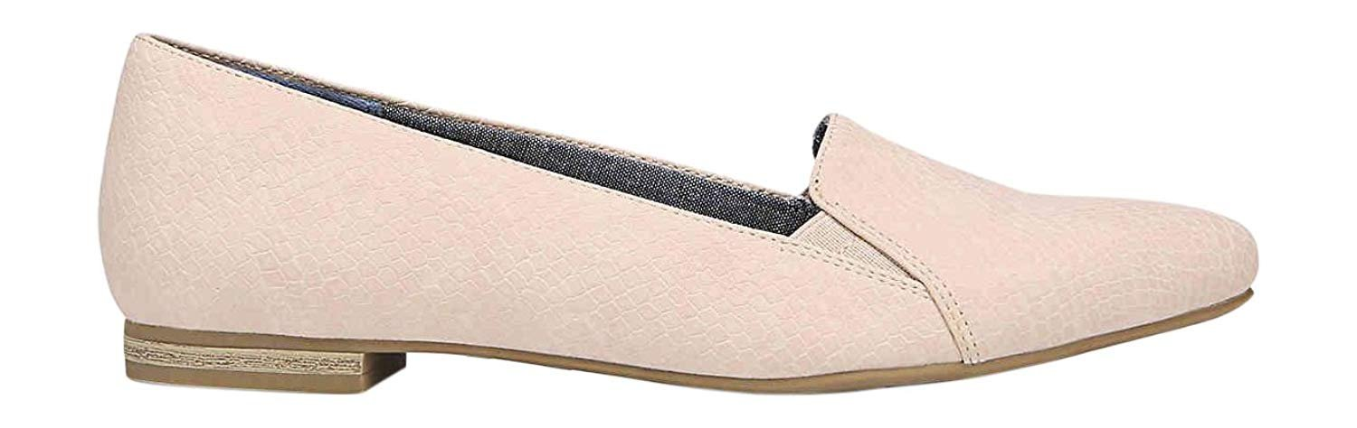 Dr. Scholl's Women's Anyways Slip-On Flat, Blush Snake B07DWBB11Q 6.5 B(M) US|Blush Snake