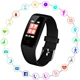Kirlor Fitness Tracker, V10 New Version Colorful