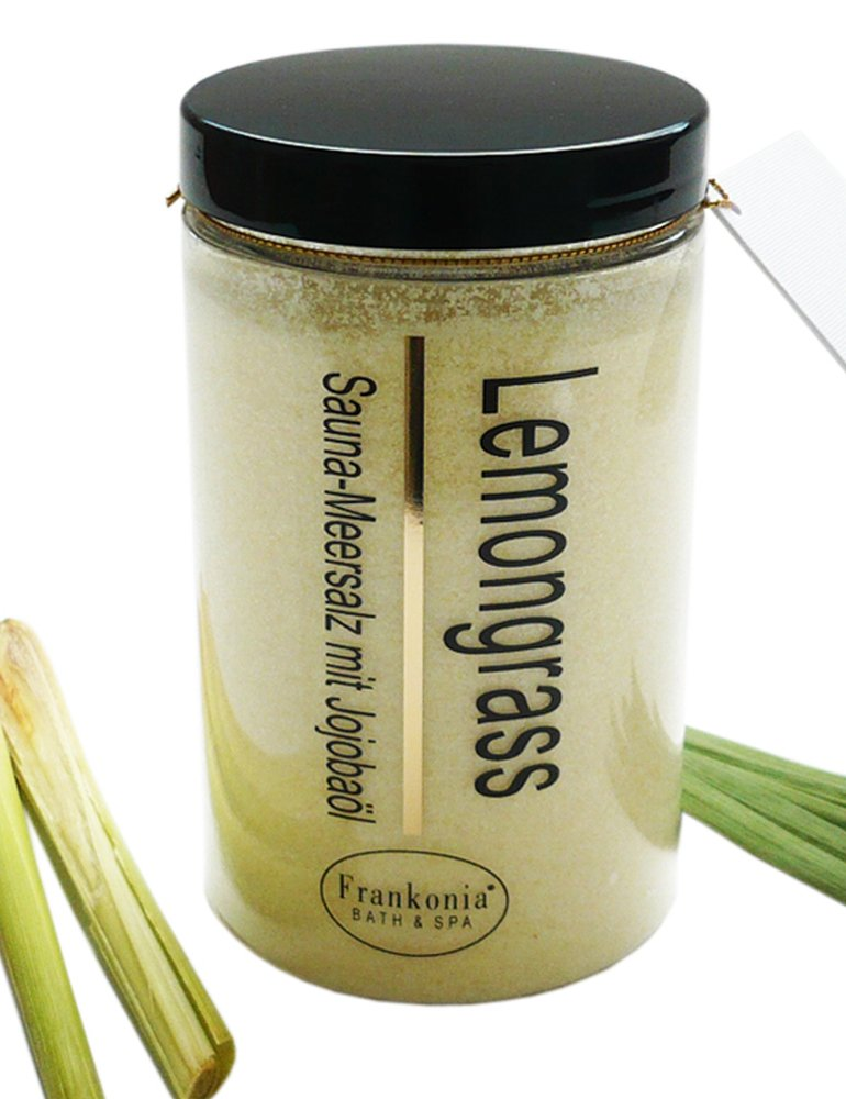 Lashuma Sauna Salz Lemongrass Meersalz