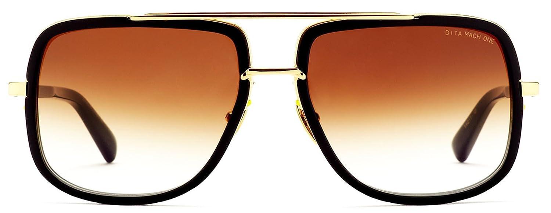 Dita mach-one sungalasses 18 K oro y negro con gradiente de ...