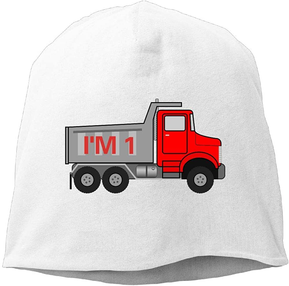 Janeither Headscarf Dump Truck Im 1 Hip-Hop Knitted Hat for Mens Womens Fashion Beanie Cap