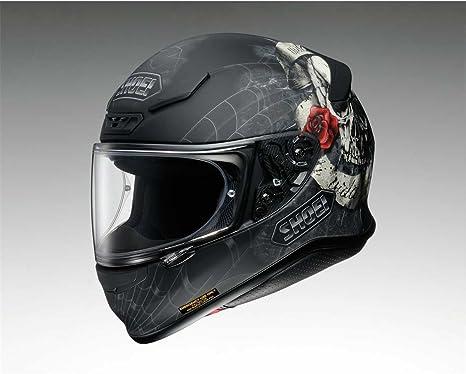 Shoei Nxr Brigand Tc 10 Motorradhelm Farbe Schwarz Weiß Größe Xl 61 62 Bekleidung