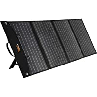 TogoPOWER 120W Portable Solar Charger Foldable Solar Panel Power Bank for Cell Phone, Tablet, Laptop, Camera, and 5-18V…