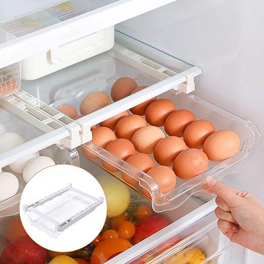 Caja De Almacenamiento De Refrigerador Organizador De Huevos ...