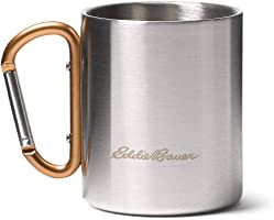 Eddie Bauer Double-Wall Cup w/Carabiner, Copper Regular ONESZE
