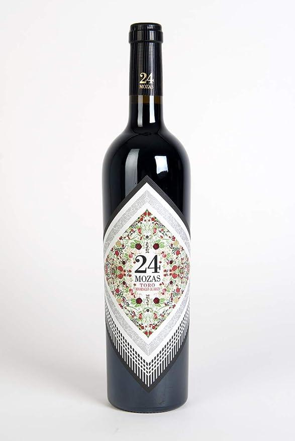 24 Mozas Vino - 750 ml: Amazon.es: Alimentación y bebidas