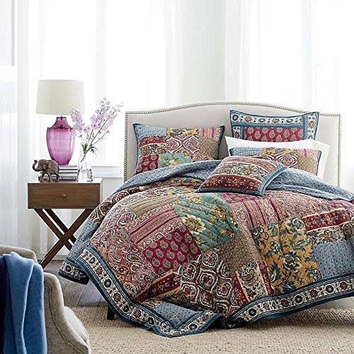 Elegance Floral Quilt Bedspread Set