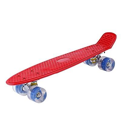 Poissons/Mâle et femelle adultes à quatre roues skateboard/ sport 4x4/Banane enfant/ single-rocker Flash
