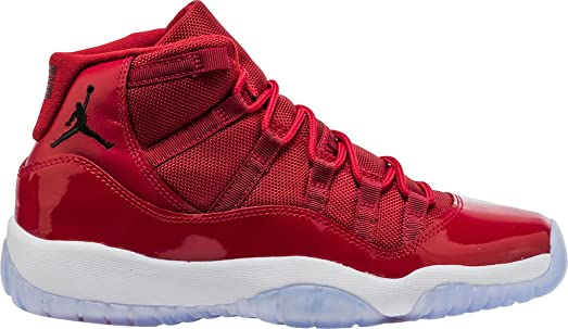 jordan retro 11 kids red