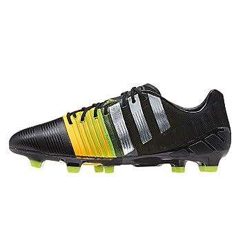 adidas Performance Nitrocharge 1.0 FG Zapatillas Futbol Soccer Negro para Hombre Energysling: Amazon.es: Deportes y aire libre