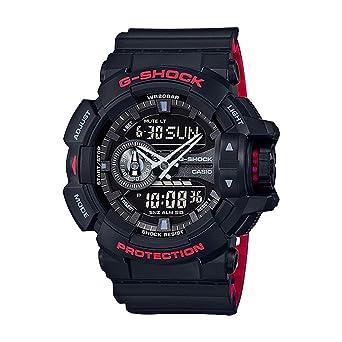 Casio G Shock Ga 400hr Black Red Layer Series Black One Size
